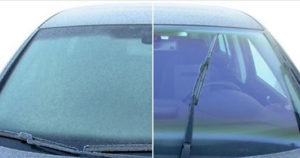 weather proof your windshield